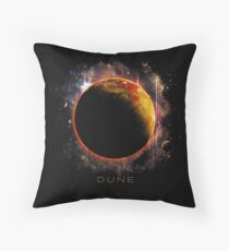 DUNE the spice must flow Throw Pillow