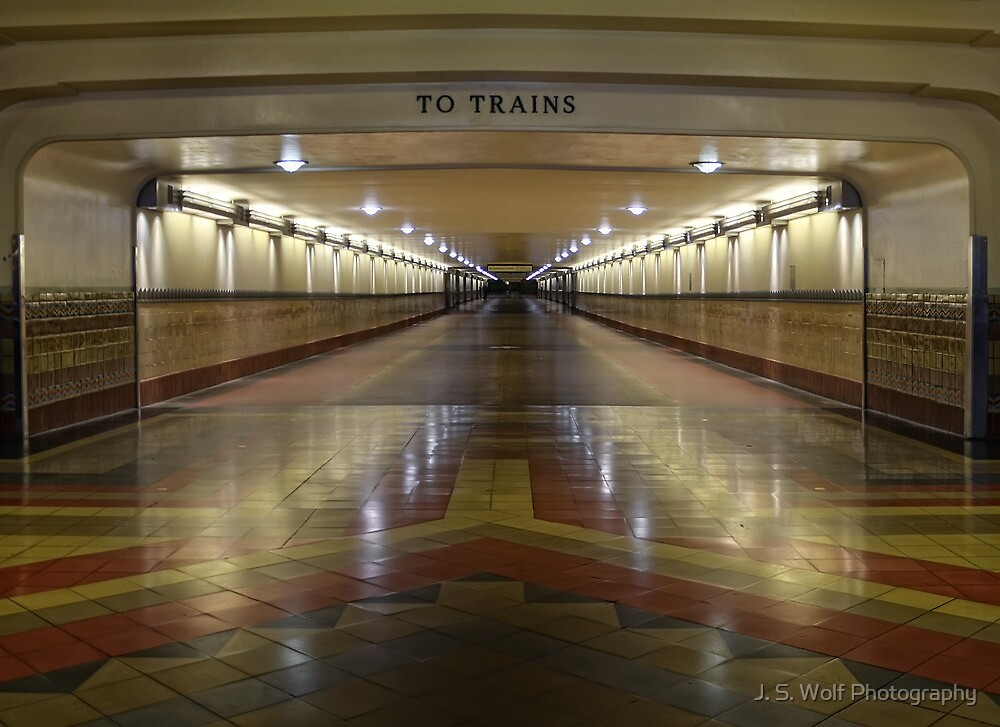 To the Trains by jswolfphoto