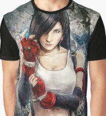Tifa Lockhart FF7 Porträt Grafik T-Shirt