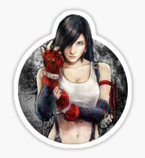 Tifa Lockhart FF7 Portrait Sticker