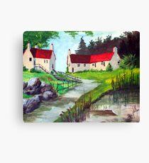 County Lane Canvas Print