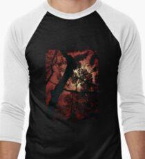 The Glow - Fiery Men's Baseball ¾ T-Shirt