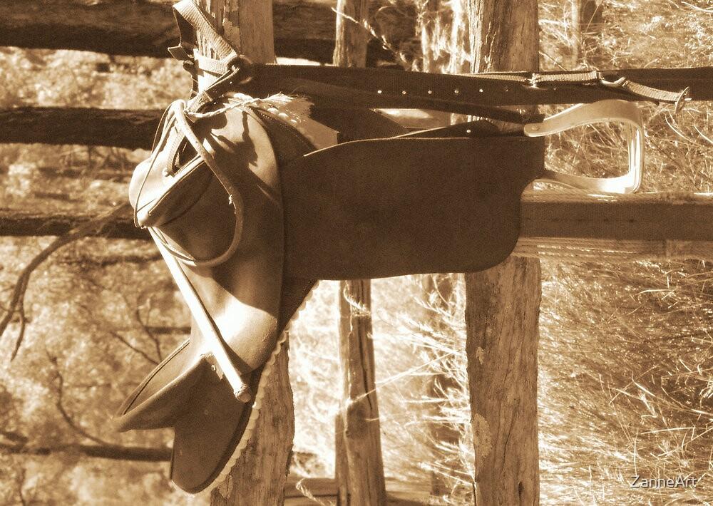 saddle by ZanneArt