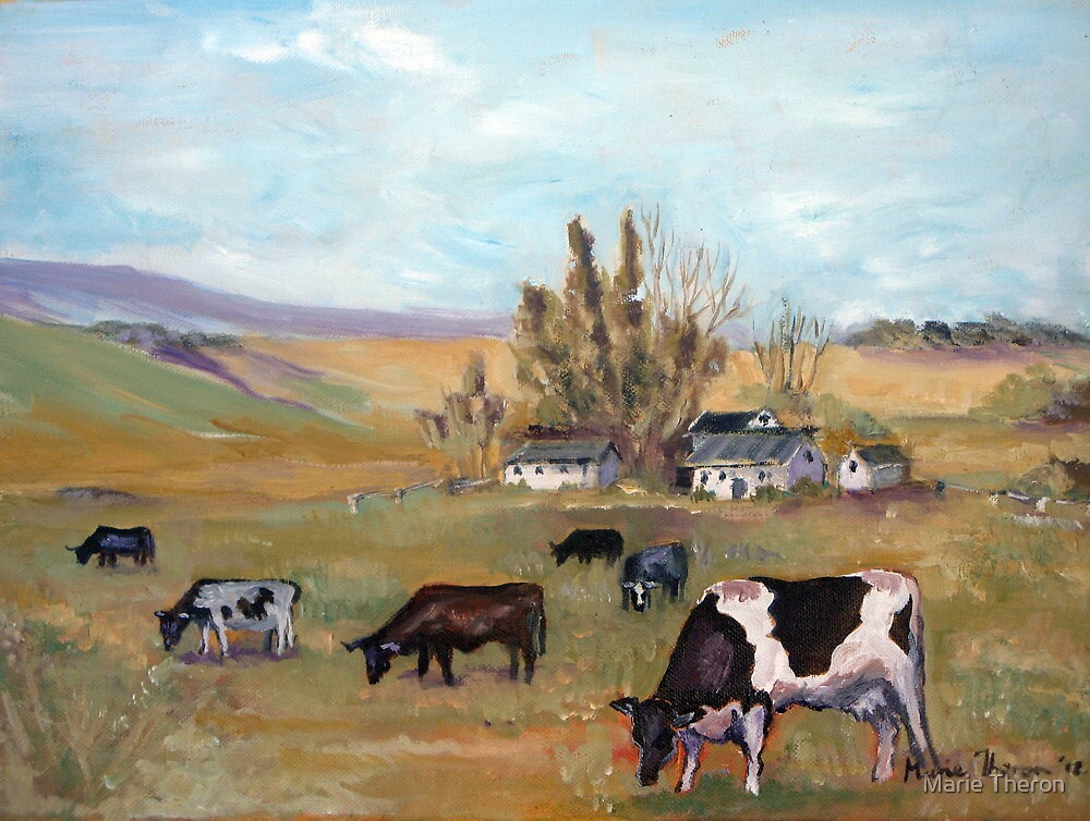 Peaceful Pastorale by Marie Theron