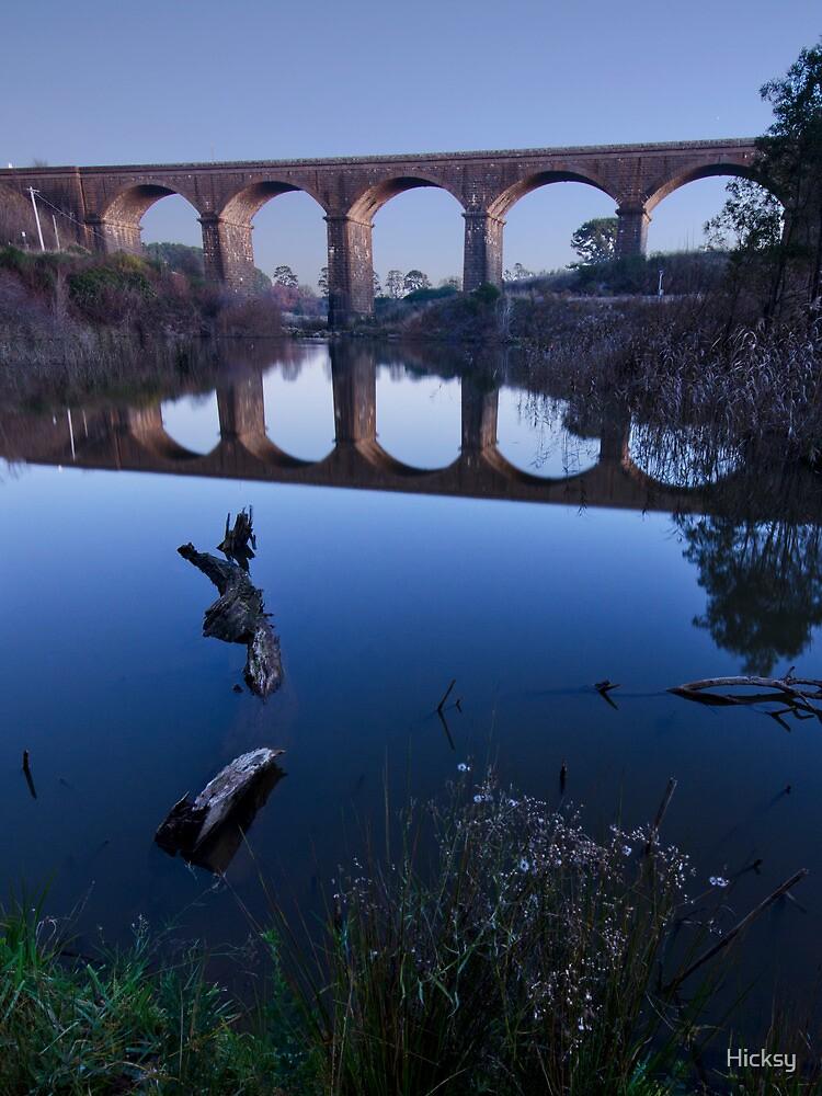 Malmsbury Viaduct by Hicksy