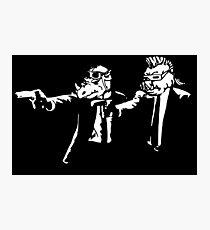 Bebop Rocksteady - Thug life - Pfiction mashup Photographic Print
