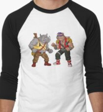 Bebop Rocksteady - Funny big print Men's Baseball ¾ T-Shirt