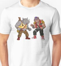 Bebop Rocksteady - Funny big print Unisex T-Shirt