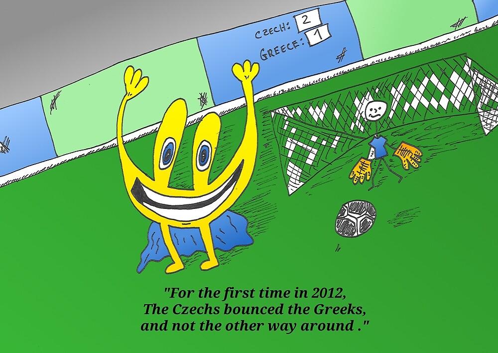 Binary options news cartoon Euroman at EURO 2012 by Binary-Options