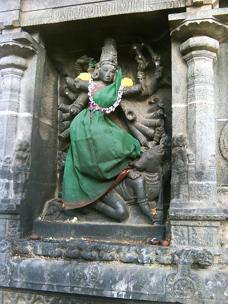 Maa Kaali - Chidambaram Temple - India by ramabhpl