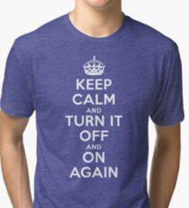 Keep Calm Tri-blend T-Shirt
