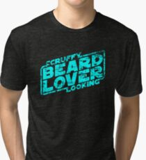 Scruffy Looking Beard Lover Tri-blend T-Shirt