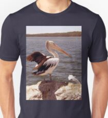 Pelican and Seagull  T-Shirt