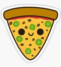 Yummy spicy pizza Sticker
