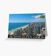 Australian Gold Greeting Card
