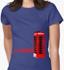 Welcome to London Women's Fitted T-Shirt