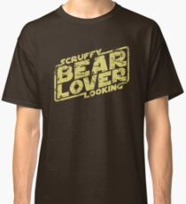 Scruffy Looking Bear Lover Classic T-Shirt