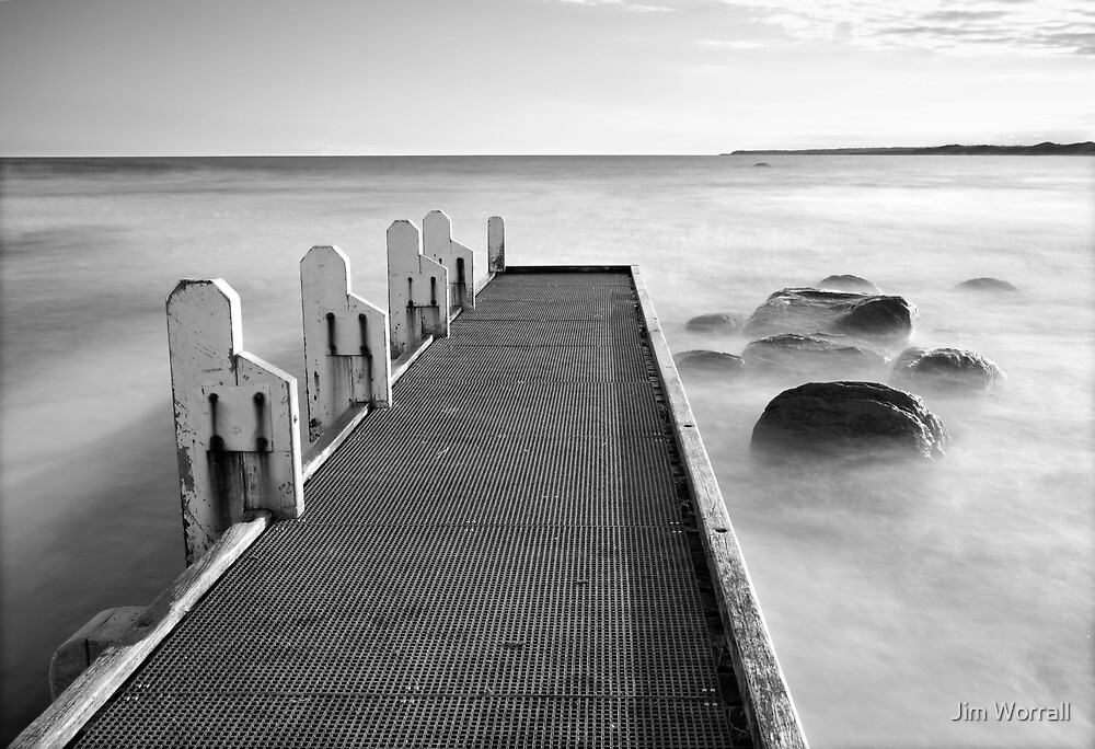 Cape Conran Jetty by Jim Worrall