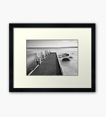 Cape Conran Jetty Framed Print