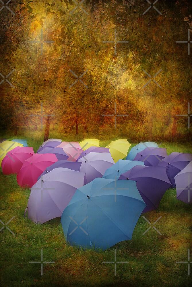 """Any Umbrellas"" by Catherine Hamilton-Veal  ©"