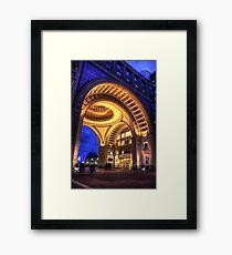 Boston Hotel Framed Print