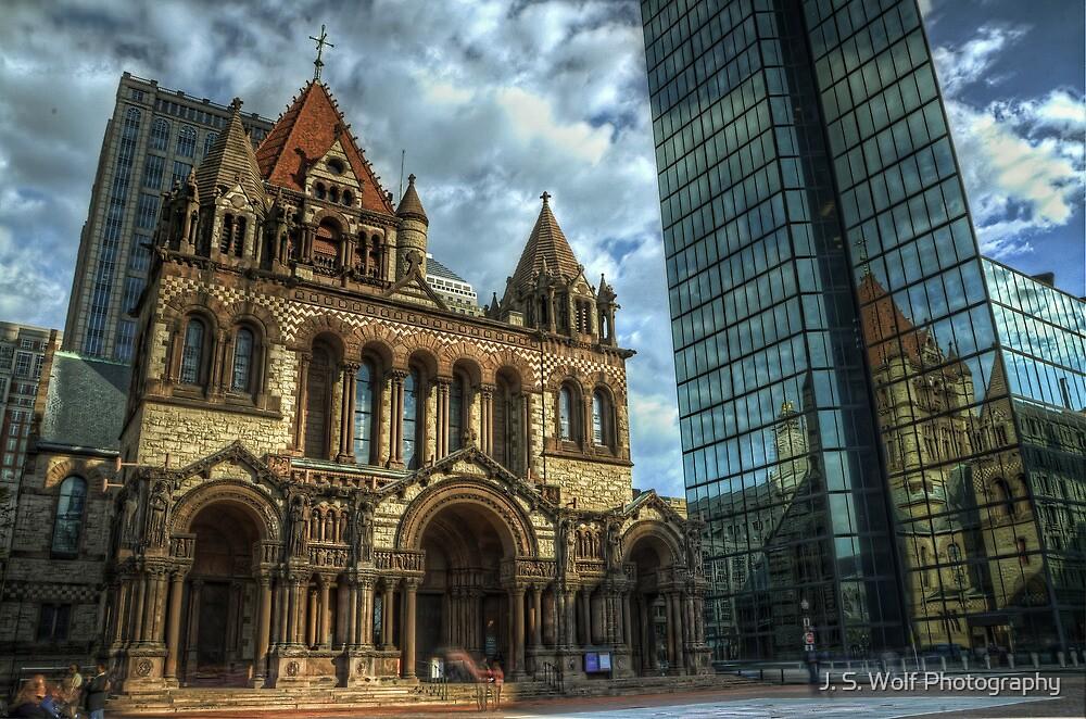 Trinity Church by jswolfphoto