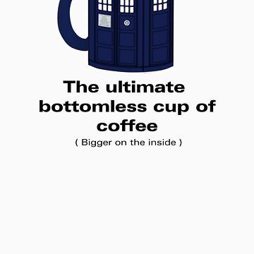 Ultimate Bottomless Cup - Sticker by fridley
