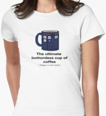 Ultimate Bottomless Cup - Sticker Women's Fitted T-Shirt