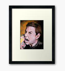 Chuck Hughes Framed Print