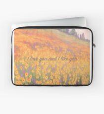 Wildflower Mural Laptop Sleeve