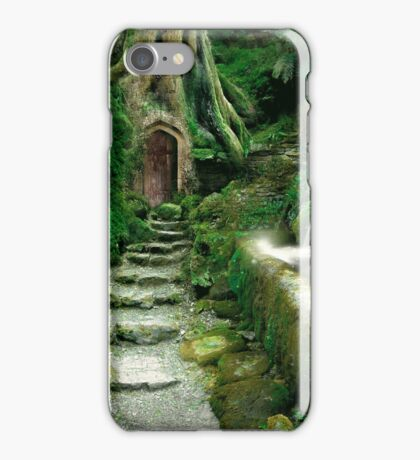 Entrance to Rivendell (revised) iPhone Case/Skin