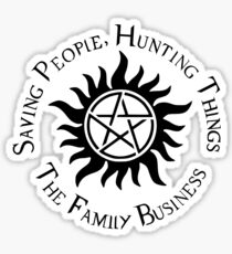Supernatural Family Business Sticker