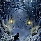 Winter Twilight  by Angie Latham
