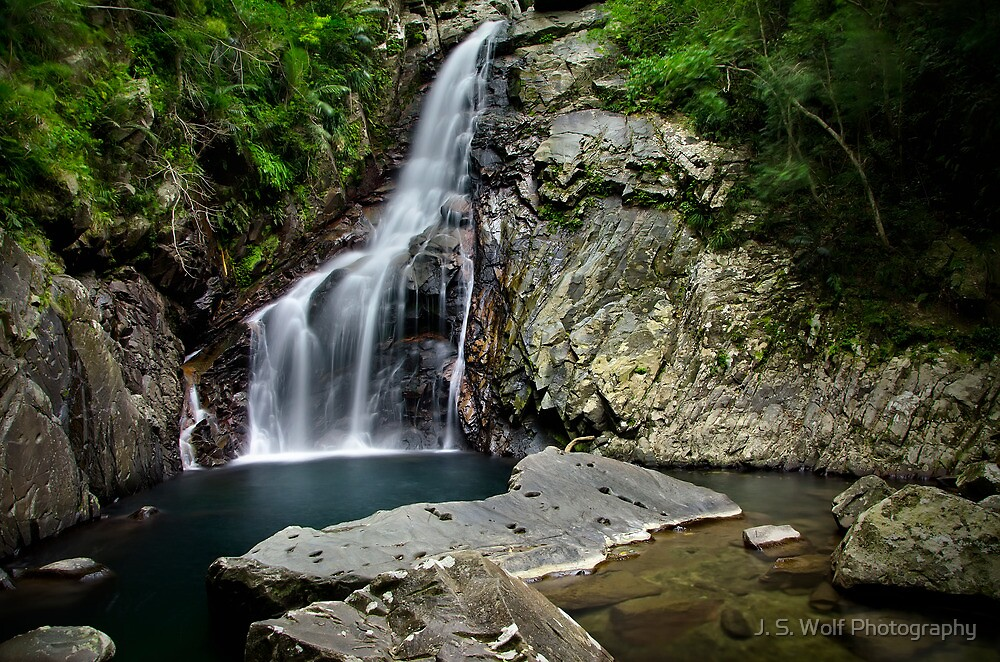 Hiji Falls by jswolfphoto