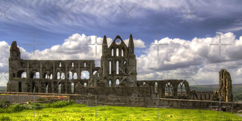 Whitby Abbey Ruin by Tom Gomez