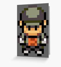 Rocket Grunt Overworld Sprite Greeting Card