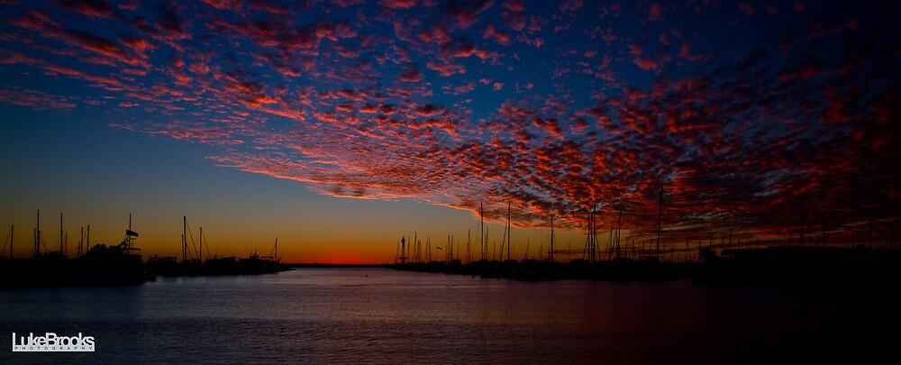 Hillarys Boat Harbour Sunset by Luke Brooks