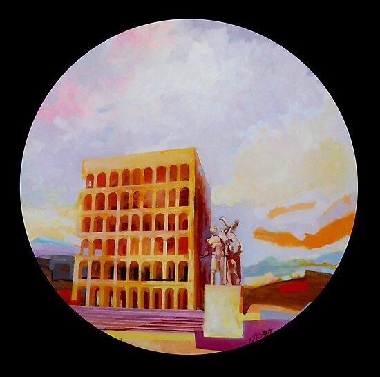 Palazzo della Civiltà Italiana by giorgiusmiron