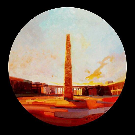Obelisco di Marconi by giorgiusmiron