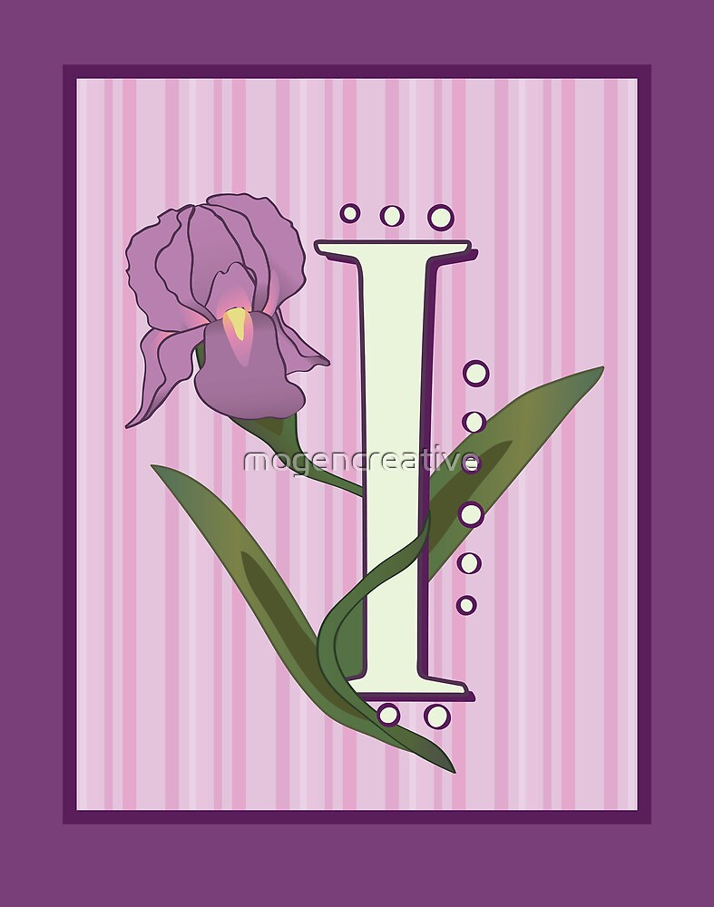 I is for Iris by mogencreative