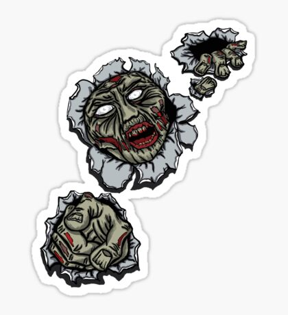 Zombie Escape Sticker