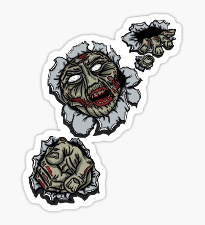 Zombie Escape Sticker