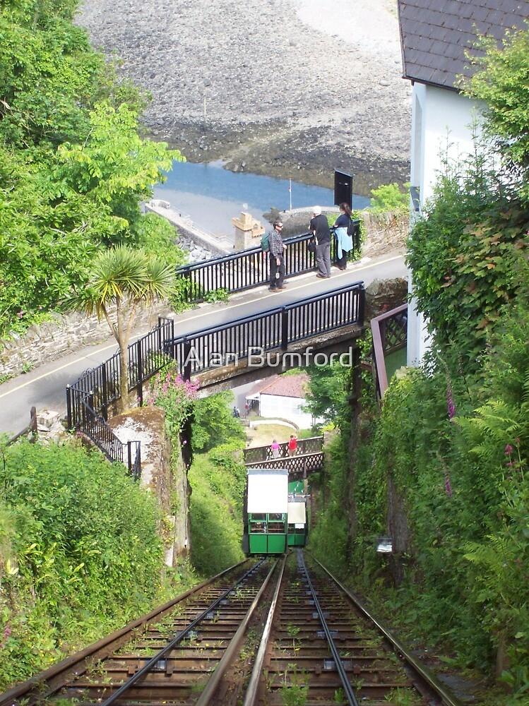 """ Cliff Railway "" by Alan Bumford"