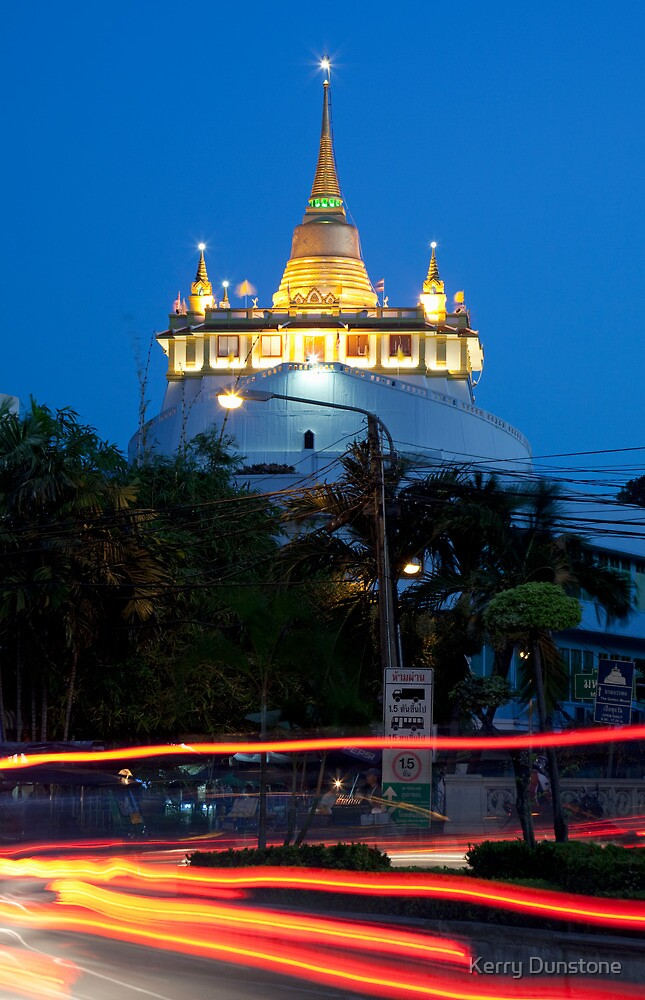 Wat Saket and the Golden Mount by Kerry Dunstone