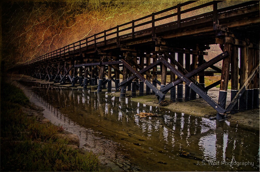 Forever Bridge by jswolfphoto