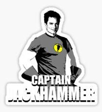 CAPTAIN JACKHAMMER Sticker