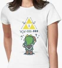 A Link to the Math Women's Fitted T-Shirt