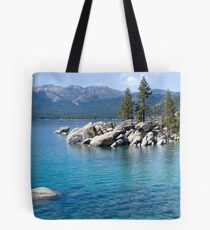 Lake Tahoe ~ Sand Harbor Tote Bag