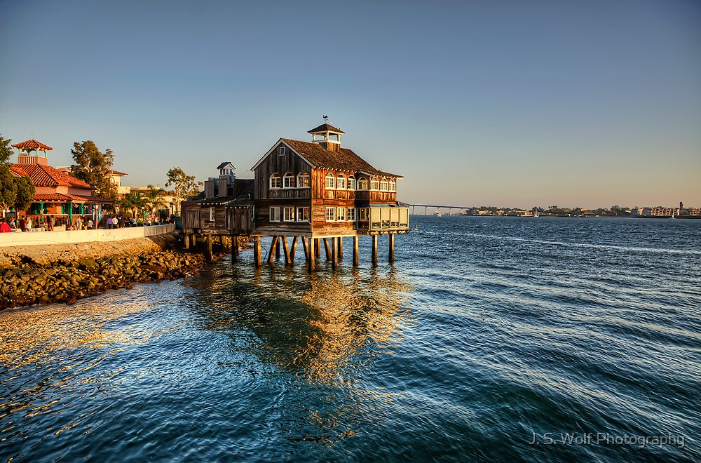 Ocean House Large by jswolfphoto