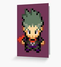 Koga Overworld Sprite: HGSS Greeting Card